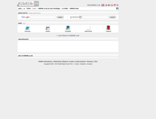 bank.klikklik.co.uk screenshot