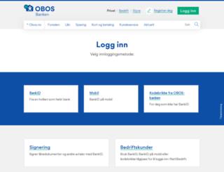 bank.obosbanken.no screenshot