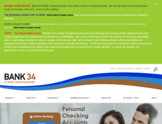 bank34.com screenshot