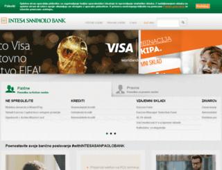 banka-koper.si screenshot