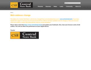 bankatcentral.com screenshot