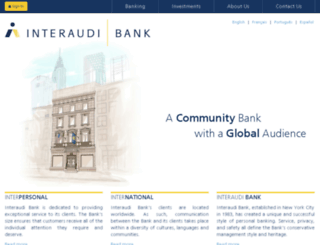 bankaudius.com screenshot