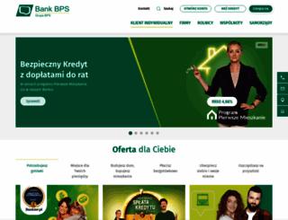 bankbps.pl screenshot