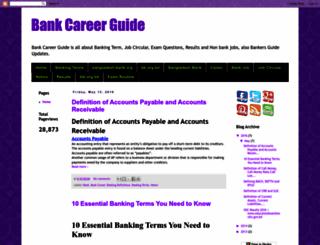 bankcareerguide.blogspot.com screenshot