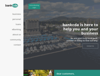 bankcda.com screenshot
