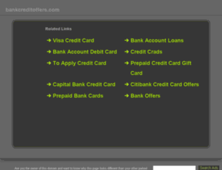 bankcreditoffers.com screenshot