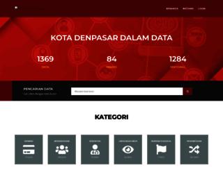 bankdata.denpasarkota.go.id screenshot