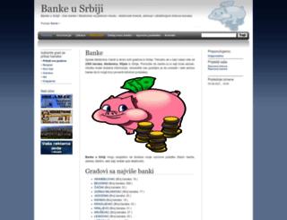 banke.cu.rs screenshot