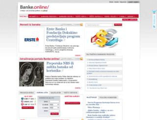 banke.online.rs screenshot