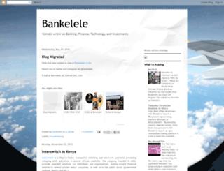 bankelele.blogspot.com screenshot