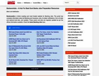 bankersadda.com screenshot