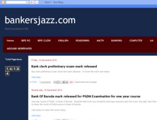 bankersjazz.com screenshot