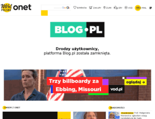 banki-online.blog.pl screenshot
