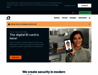 bankid.com screenshot