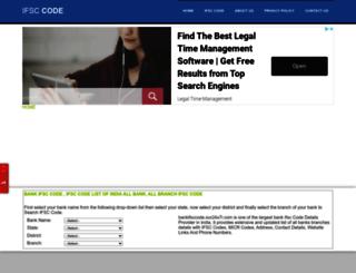 bankifsccode.our24x7i.com screenshot