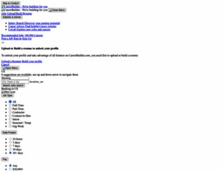 banking-finance.careerbuilder.com screenshot