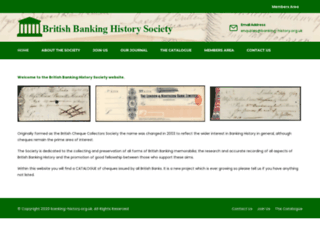 banking-history.co.uk screenshot