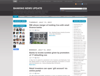 banking-news-update.blogspot.com screenshot