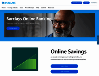 banking.barclaysus.com screenshot