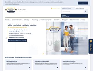 banking.degussa-bank.de screenshot