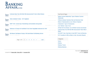 bankingaffair.com screenshot