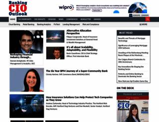 bankingciooutlook.com screenshot
