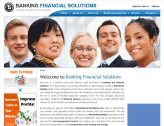 bankingfinancialsolutions.com screenshot