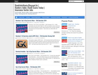 bankjobsmania.blogspot.in screenshot