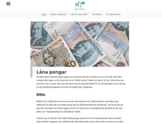 banklanet.se screenshot