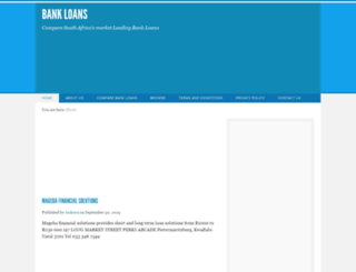 bankloanz.co.za screenshot