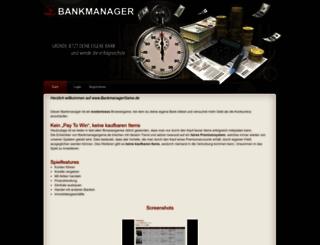 bankmanagergame.de screenshot