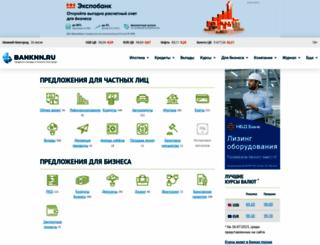 banknn.ru screenshot