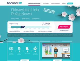 banknot.pl screenshot