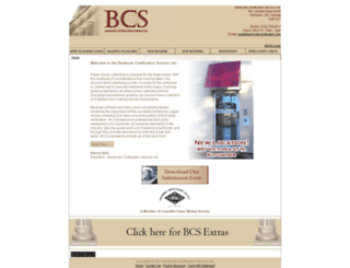 banknotecertification.com screenshot