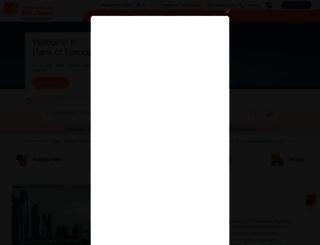 bankofbarodauae.ae screenshot