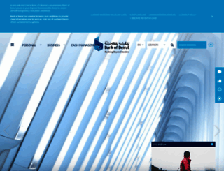 bankofbeirut.com screenshot