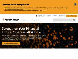 bankofcolorado.com screenshot