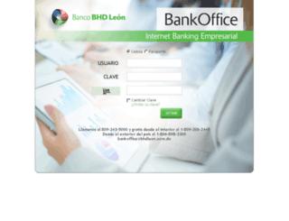 bankoffice.bhdleon.com.do screenshot