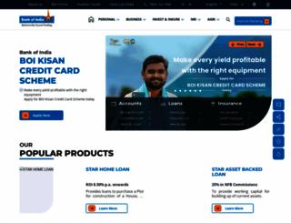 bankofindia.co.in screenshot