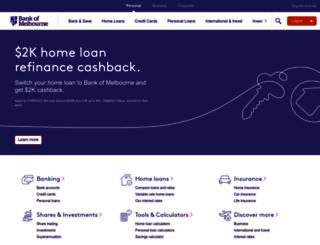bankofmelbourne.com.au screenshot