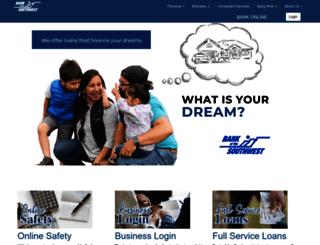 bankofsw.com screenshot