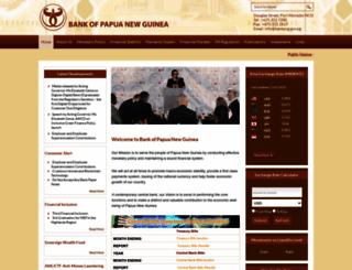 bankpng.gov.pg screenshot