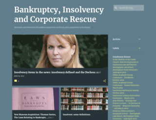 bankruptcyandinsolvency.blogspot.com screenshot