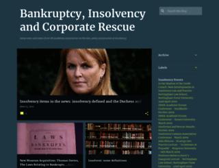 bankruptcyandinsolvency.blogspot.com screenshot