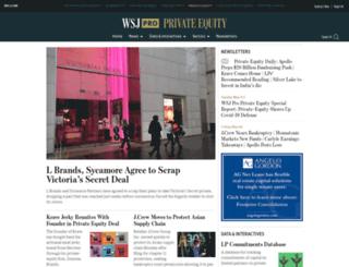 bankruptcynews.dowjones.com screenshot
