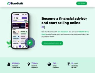 banksathi.com screenshot