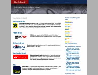 banksbrazil.com screenshot