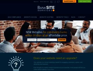 banksiteservices.com screenshot