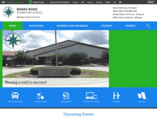 banksroades.wcpss.net screenshot