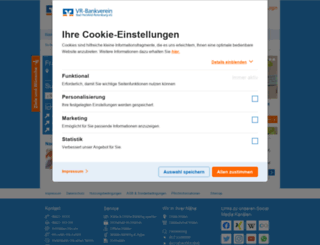 bankverein.de screenshot